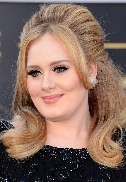 peinados retro - Adele #hair