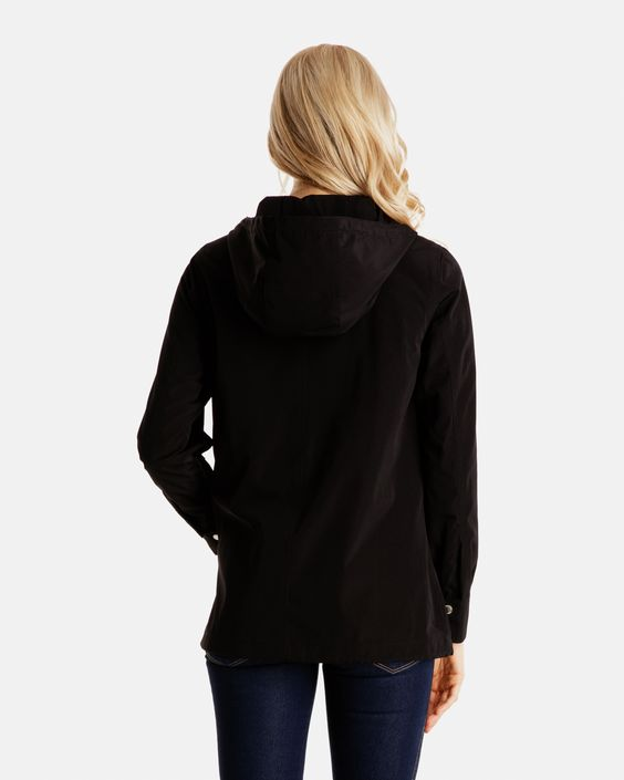 Coco Lightweight Hooded Rain Jacket for Women | London Fog ...