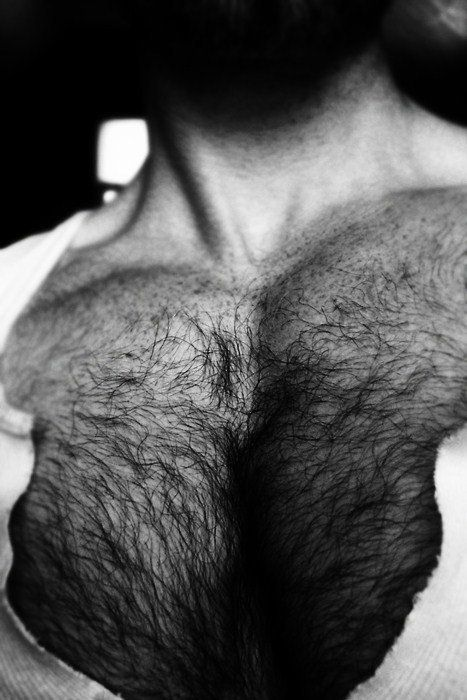 I deal with depression because my chest is so hairy and uncontrollable.  Often I try to wear low cut shirts but i find black coarse hairs poking out of the top.  Every time I get it waxed it just comes back darker.  Please help with any suggestions!