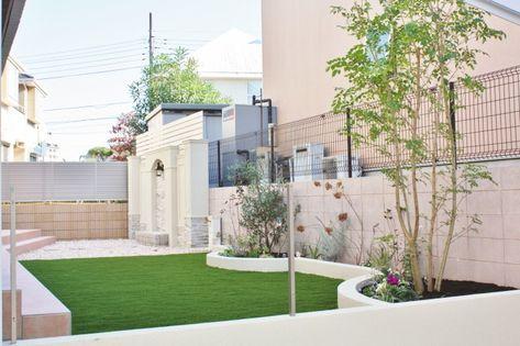 綺麗な人工芝の庭を作るには 人工芝を知ることから始まります また