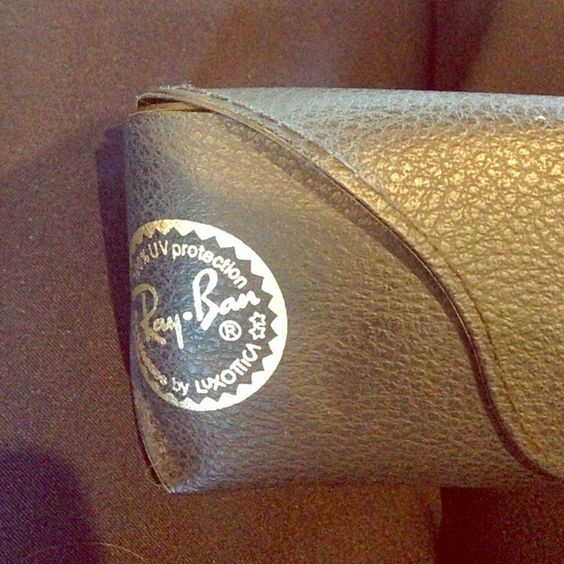 Ray Ban Sunglasses Case Ray Ban Sunglasses Case ; black ; like new Ray-Ban Accessories Sunglasses