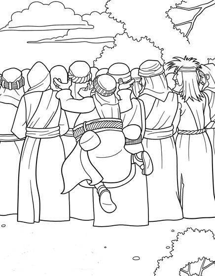 zaqueo coloring pages - photo #30