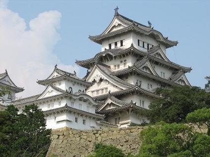 Castillo de la garza blanca, Japón