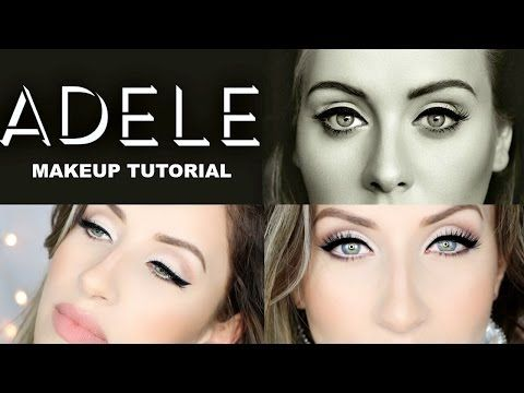 Adele Makeup Tutorial - MakeupByEmilly - YouTube