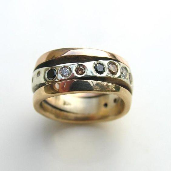 Diamond ring,designer diamond rings christchurch jewellery designer custom made wedding rings | Debra Fallowfield