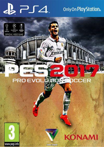 Pro Evolution Soccer 2017 Morata Cover by PanosEnglish.deviantart.com on…