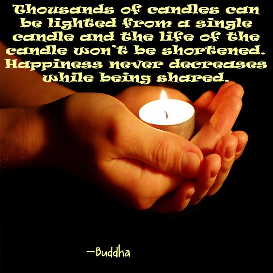 Light you candle and share it with the world!