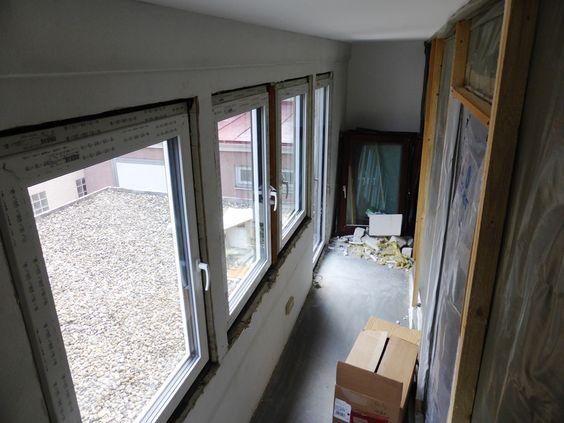 ...die neuen Fenster sind eingebaut.