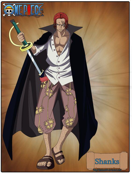 One Piece | Poses | Shanks | by Deidara465.deviantart.com on @DeviantArt