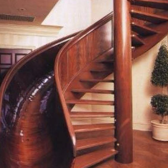Best way to go downstairs! I want this