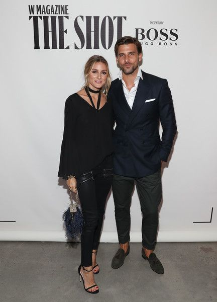 Olivia Palermo Photos Photos - Olivia Palermo (L) and Johannes Huebl attend the…