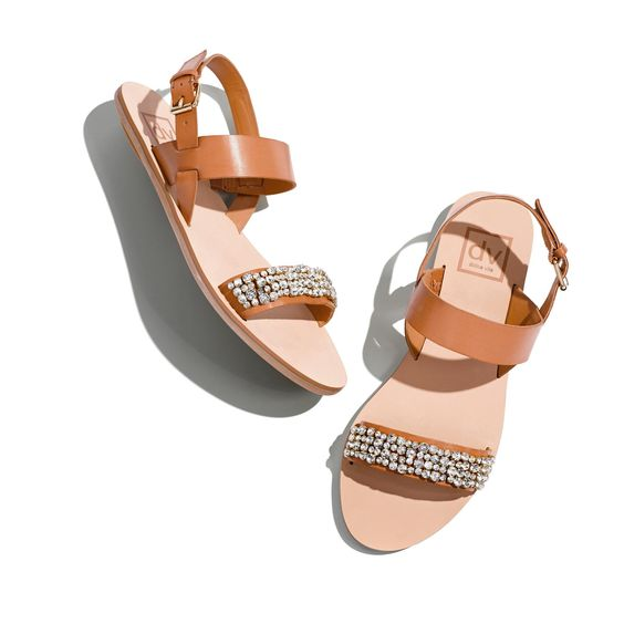 Show off your bright new pedicure in these sparkling Dolce Vita sandals.