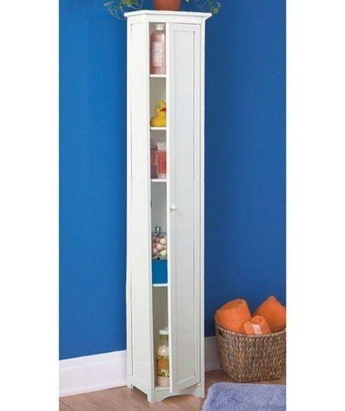 Tall Cabinet Storage, Slim Storage Cabinet