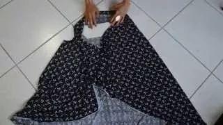 vestido sem costura - YouTube