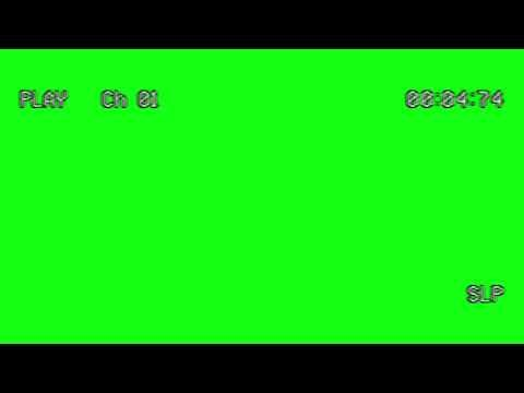 Rec Play Green Screen Effect Youtube In 2020 Greenscreen Youtube Design Aesthetic Template