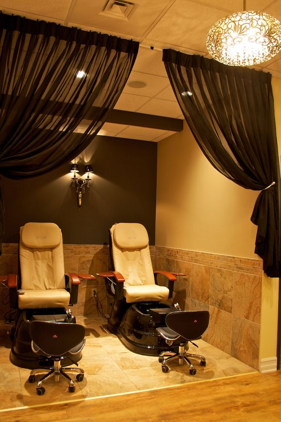 Curtains, Salons And Spas On Pinterest
