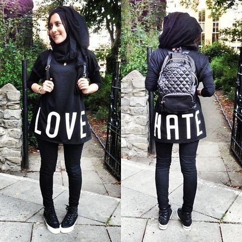 Sw g Fashion style girl hijab facebook