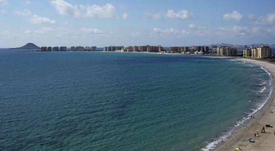 La Manga del Mar Menor. Murcia, Spain.