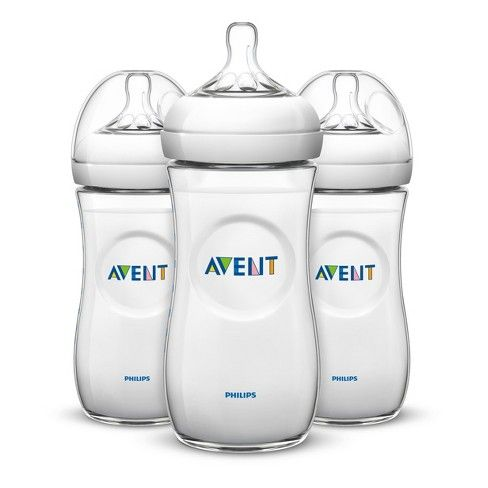 Philips Avent Natural Baby Bottle Clear 11oz 3pk Best Baby Bottles Natural Baby Bottle Avent Natural Bottles