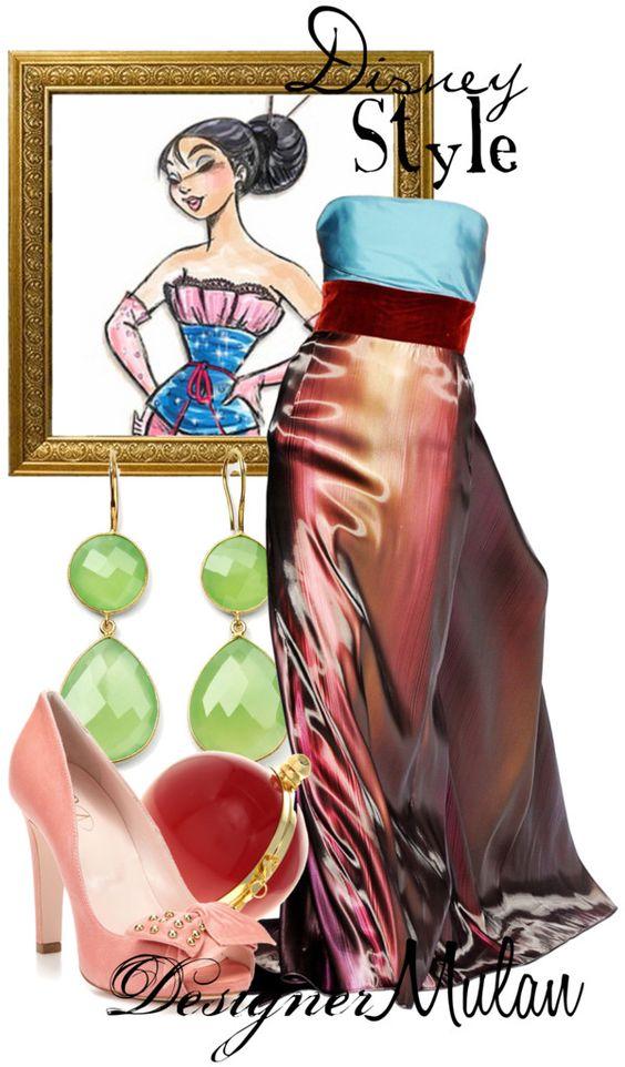 """Disney Style : Mulan"" by missm26 on Polyvore"