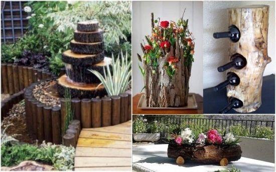 Decoratiuni Rustice Din Busteni Pentru Casa Si Gradina Cele Mai Frumoase Idei Intr O Colectie De Peste 40 De Poze Plants