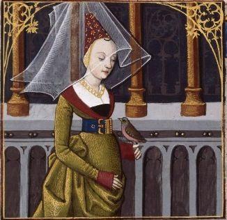 LXIII-Virginia, épouse de Lucius Volumnius (VIRGINIA, wife of Lucius Volumnius) -- Giovanni Boccaccio (1313-1375), Le Livre des cleres et nobles femmes, v. 1488-1496, Cognac (France), traducteur anonyme. -- Illustrations painted by Robinet Testard -- BnF Français 599 fol. 55v:
