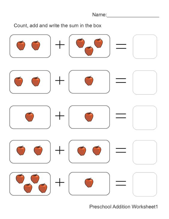 Addition worksheets, Worksheets and Pictures on Pinterest