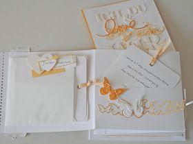 Eine Karte, was Besonderes, mit Platz für ein paar Worte und für ein Geldgeschenk, weiss, hellgelb, gelb, mit Schmetterlingen, wurde für di...