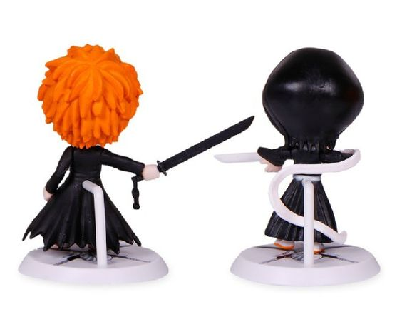 Bleach series 1Set 6pcs/set 7cm2.8''Japana anime toy 6 generation Bleach pvc action figure Christmas Gifts
