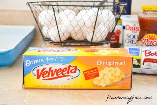 Velveeta Cheese, Breakfast, Casserole