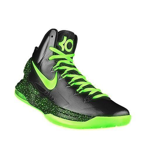 Green Nike Basketball Shoes Kids  8ace38e62ea6