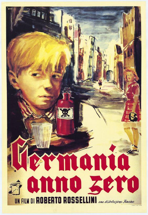 <3<3 Germania Anno Zero by Roberto Rossellini, 1948