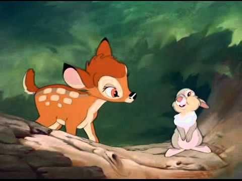 Bambi Pelicula Completa En Espanol Latino Youtube Bambi Disney Bambi And Thumper Disney Art