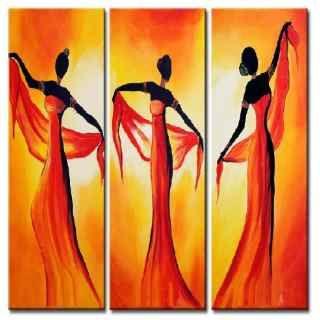 Cuadros africanos modernos cuadros a ars 425 en for Laminas de cuadros modernos