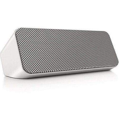 Amazon.com: Philips SBT300WHI/37 Portable Wireless Bluetooth Bass Reflex Speaker, White: Home Audio & Theater