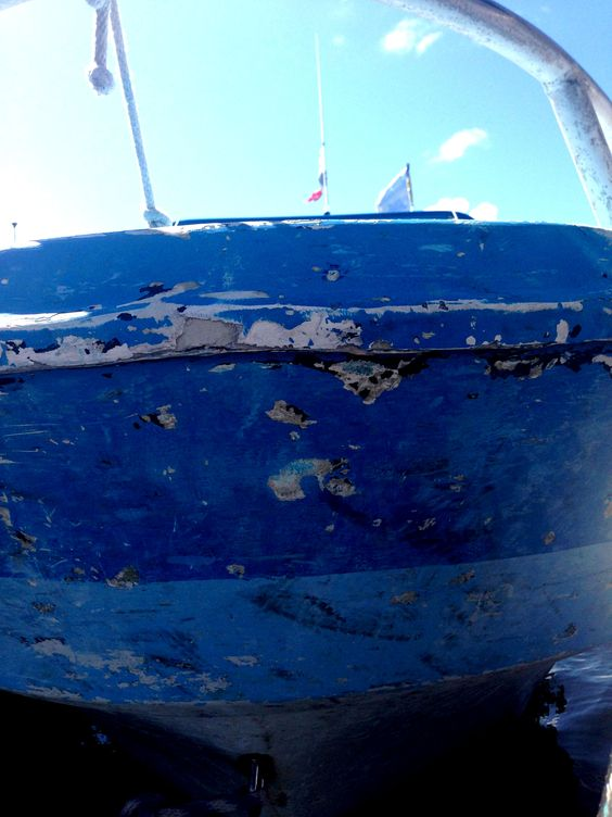 Blue boat, total love!  #Blue #Boat #Holbox #Mexico #Love #Beach #ONE #Fashion