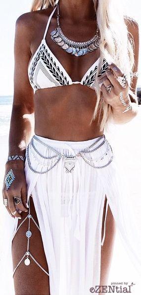 Fresh White Skirt
