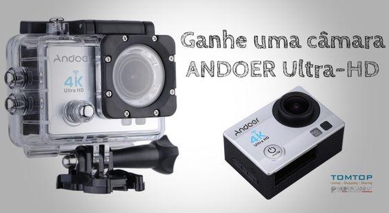 """Passatempo: Ganhe uma câmara tipo """"GoPro"""" com o Poupa e Ganha e a TomTop"""