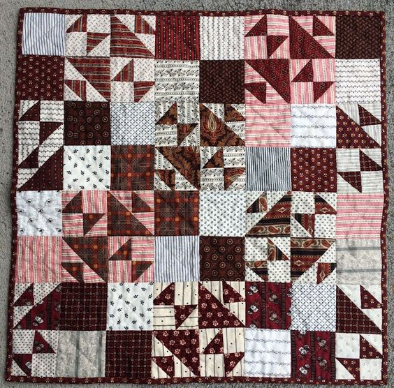 Quilters Madder- YOu will find the links to part 1-3 on this blog post.