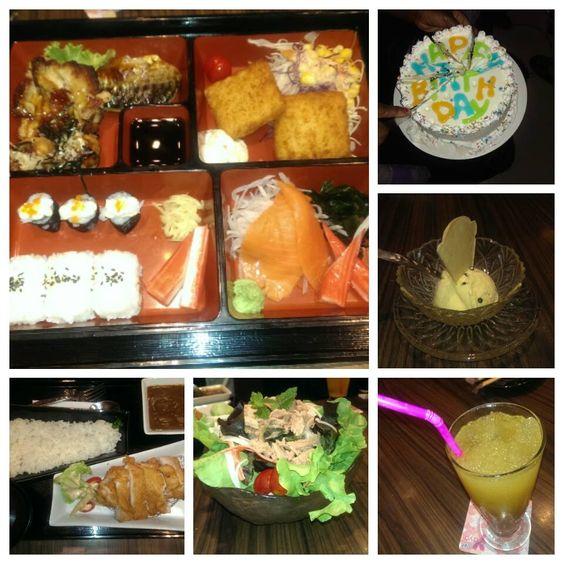 Japanese food. Yayoi restaurant. Sushi