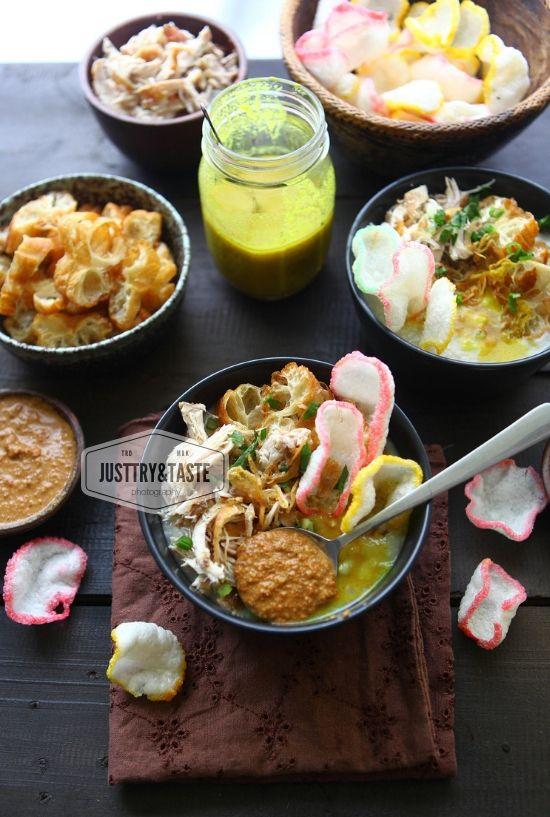 Resep Bubur Ayam Sambal Kacang Jtt Resep Masakan Masakan Indonesia Kacang