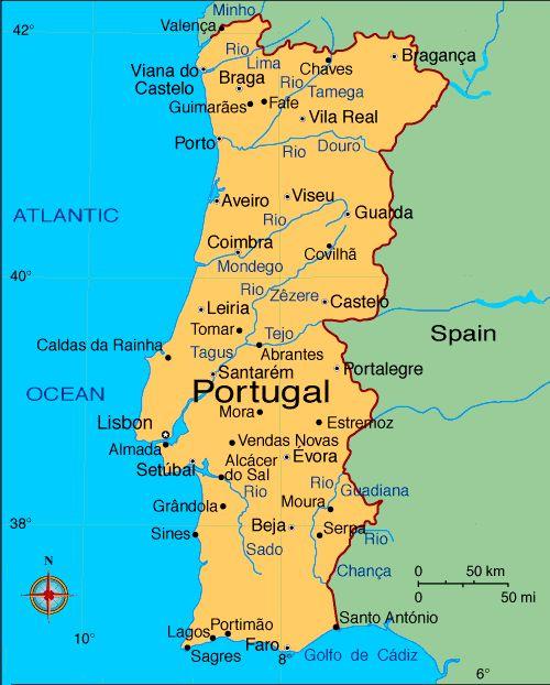 Travel Times Between Cities In Spain