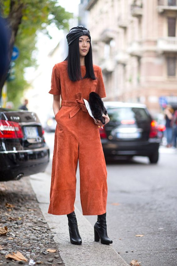 Not a fan of jumpsuits, but color and shape is spot on