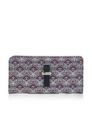 #Accessorize Butterfly Etched Medium Wallet