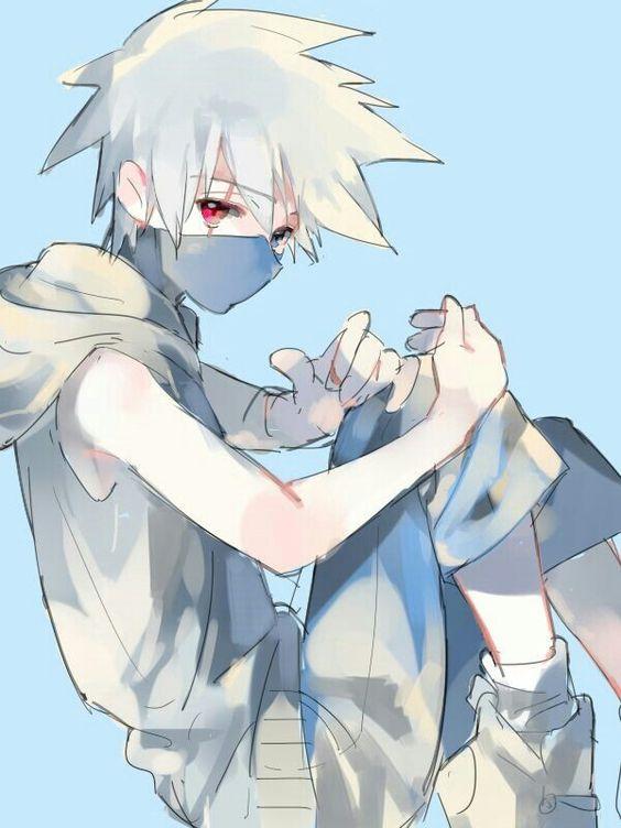 Hatake Kakashi, young, childhood, cute, Sharingan; Naruto