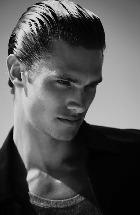 18 Coolest 80s Hairstyles For Men Slicked Hair Men Wet Look Hair Brylcreem Hairstyles