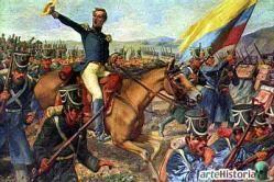 1824 - Batalla de Ayacucho - Guerra independencia Hispanoamerica final definitivo del dominio colonial español en América del sur. - La batalla de Ayacucho fue el último gran enfrentamiento dentro de las campañas terrestres de las guerras de independencia hispanoamericanas (1809-1826) y significa el final definitivo del dominio colonial español en América del sur y la independencia del Perú