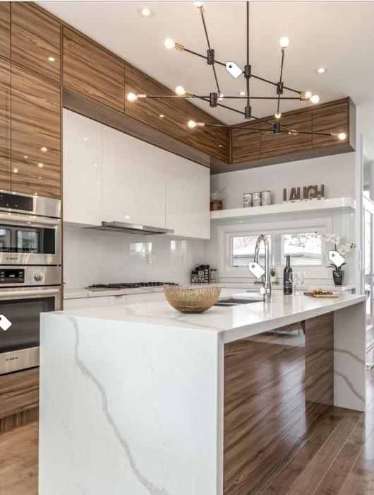 Island Lighting Contemporary Kitchen Modern Remodel Midcentury