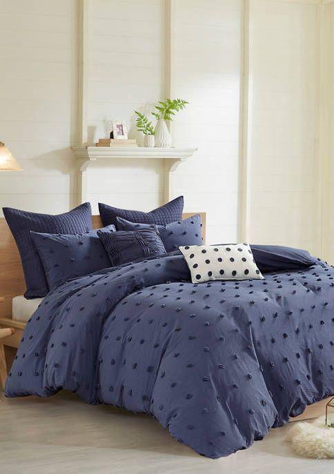 Urban Habitat Brooklyn Cotton Jacquard Comforter Set Comforter Sets Duvet Cover Sets Home Essence
