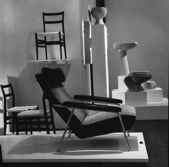 Exhibit of Gio Ponti's work.
